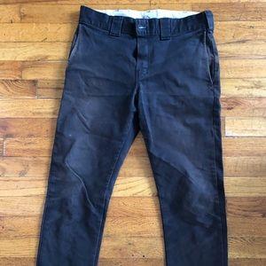 Vintage Dickies work pants, slim fit, size 30